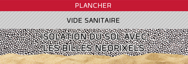 Neopixels isolation du sol - Isolation vide sanitaire accessible ...